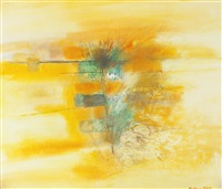 yellow landscape by robert henderson blyth