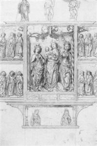 der gotische altar in der stiftskirche st. ossiach by hans gasser