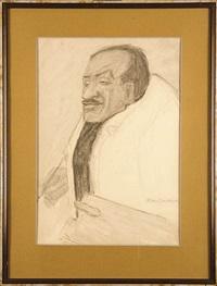 portret tytusa czyzewskiego by tadeusz waskowski