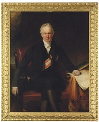 baron alexander von humboldt wearing the star and the broad band of the order of the red eagle by henry william pickersgill