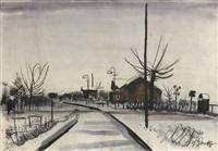 mittenwalder kleinbahnhof by hans goetsch