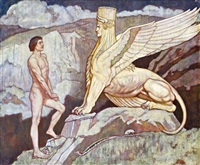oidipus and the sphinx by john duncan