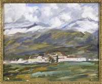 hill at ronda by william macdonald