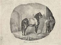 cheval de la plaine de caen by théodore géricault