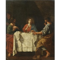 the supper at emmaus by giacinto gimignani