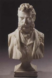 a bust of a gentleman by charles henry niehaus