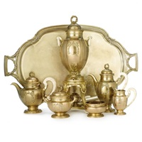 french tea and coffee set (set of 7) by henin & cie