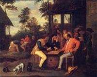 les joueurs de cartes by vincent adriaensz