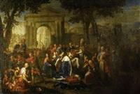 saint louis recevant la couronne d'épines by jean (frère andré) andré