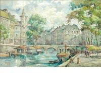 river seine, paris by andre picot