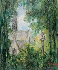 chapelle en bretagne by pierre laprade