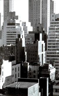 new-york, manhattan by henri cartier-bresson