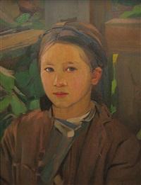 girl portrait by constantin artachino