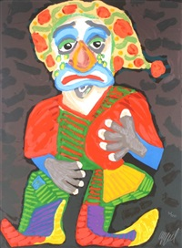 pagliacci by karel appel