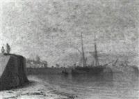 puerto de mar¡n, pontevedra by angel maria cortellini y hernandez