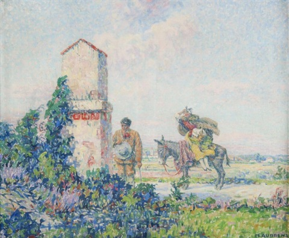 halte devant loratoire by henri aurrens