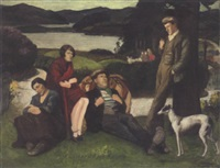 travellers resting by madge j. dunn
