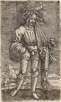 der kleine fahnenträger by albrecht altdorfer