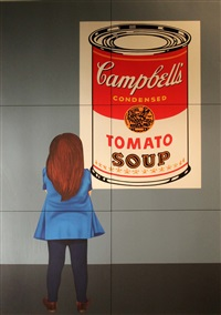 campbells soup by robert ballagh