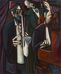 jazz players - the trio by george dunne