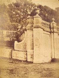 frascati, villa conti (+ scalinata di piazza di spagna; 2 works) by carlo baldassare simelli