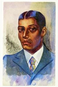 portrait of a black gentleman by dox thrash