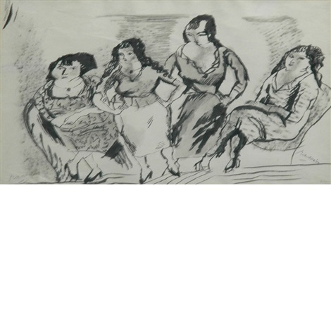 four women by jules pascin