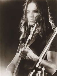 david gilmour, pink floyd live at pompeii by adrian maben