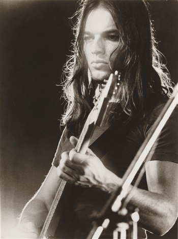 David Gilmour, Pink Floyd live at Pompeii by Adrian Maben on