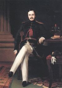portrait of brevet major robert cornelius napier by t. smart