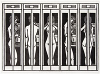 telephone booths by jacques hnizdovsky