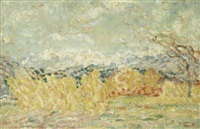 paysage du midi by louis valtat