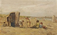 a day at the beach by louis soonius