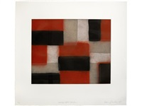 wall of light: crimson by sean scully