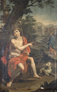 saint john the baptist by jacopo alessandro calvi