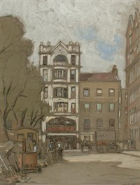 leicester square by horace mann livens
