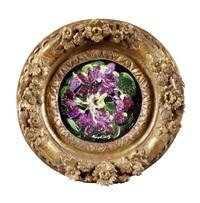 jeté de violettes by moïse kisling