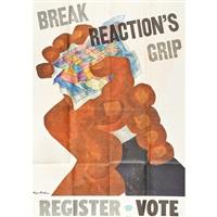 break reactions grip(7 works) by ben shahn