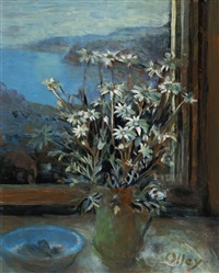 flannel flowers by margaret hannah olley