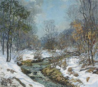 melting snows by edward willis redfield