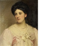 constance, the wife of the revd arthur luckock by william samuel henry (sir) llewellyn