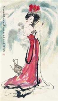 仕女 by xue linxing