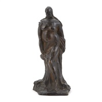 woman (standing nude) (lf 335) by gaston lachaise