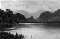the jaws of borrowdale, derwentwater by donald a. paton
