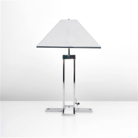 table lamp by curtis jere