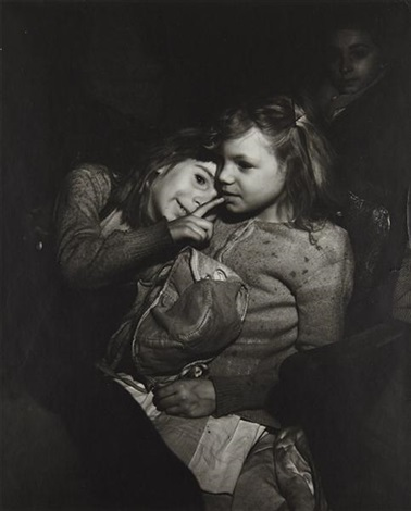 girls palace theater ny by weegee