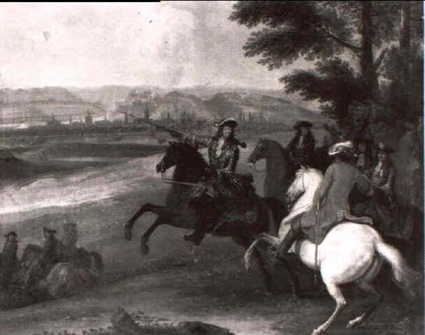 batille de louis xvi ypres by sauveur le conte