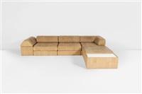 ds 80 canapé composé de quatre modules et de deux bouts de canapé by de sede