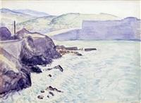 la sortie du port de collioure by albert marquet