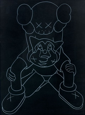 companion vs astroboy by kaws